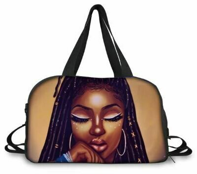 BlackArt Duffel Bag (Design #30)