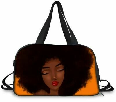 BlackArt Duffel Bag (Design #8)