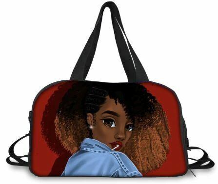 BlackArt Duffel Bag (Design #14)