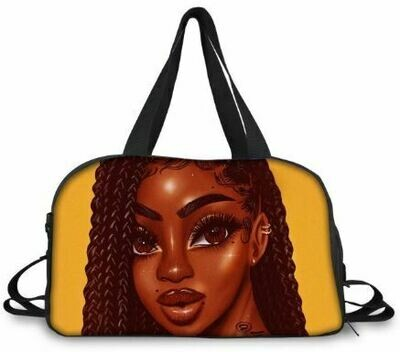 BlackArt Duffel Bag (Design #19)