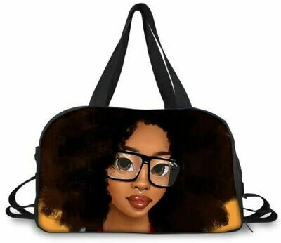BlackArt Duffel Bag (Design #23)