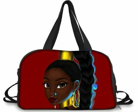 BlackArt Duffel Bag (Design #13)