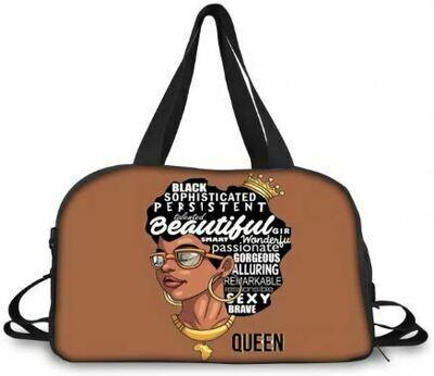 BlackArt Duffel Bag (Design #15)