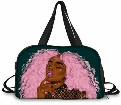 BlackArt Duffel Bag (Design #16)