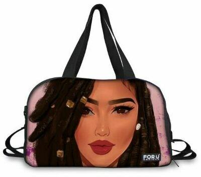 BlackArt Duffel Bag (Design #18)