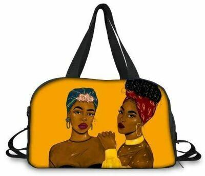 BlackArt Duffel Bag (Design #26)
