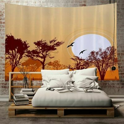 Afrocentric Wall Tapestry (Design #9)