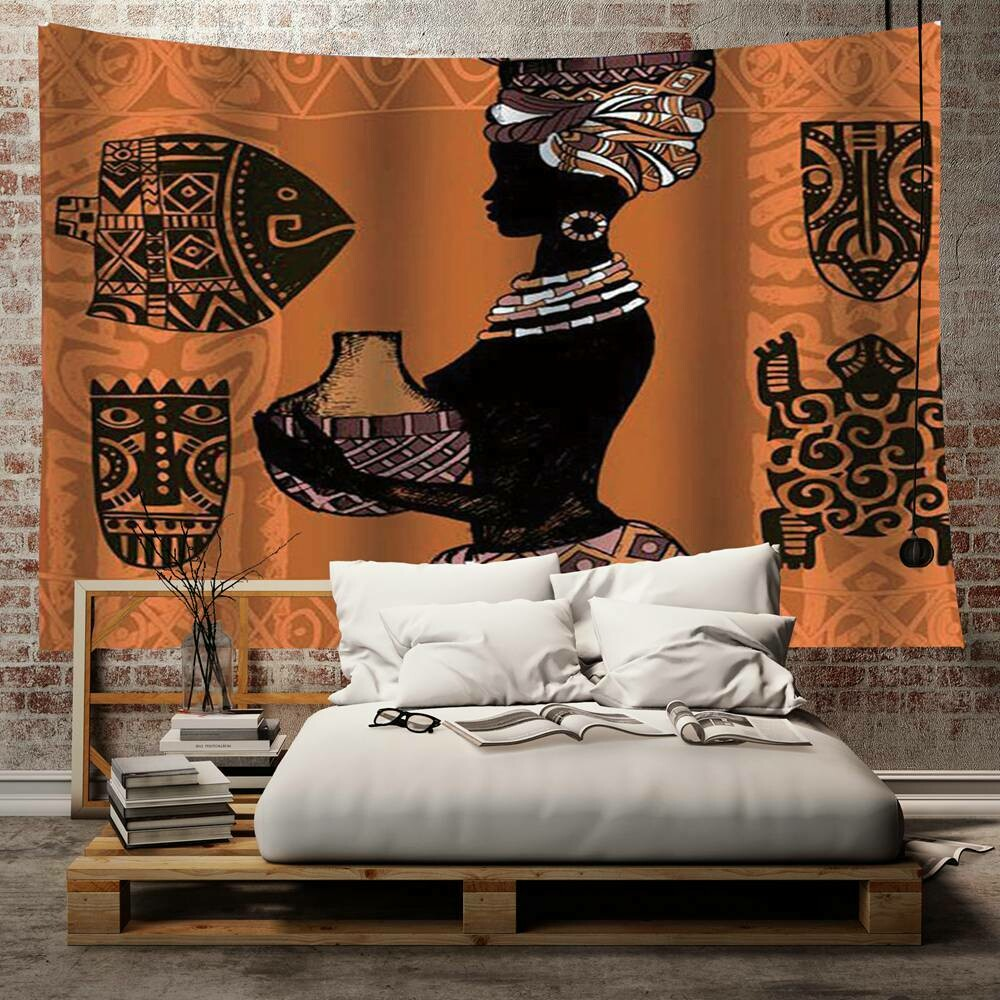 Afrocentric Wall Tapestry (Design #24)