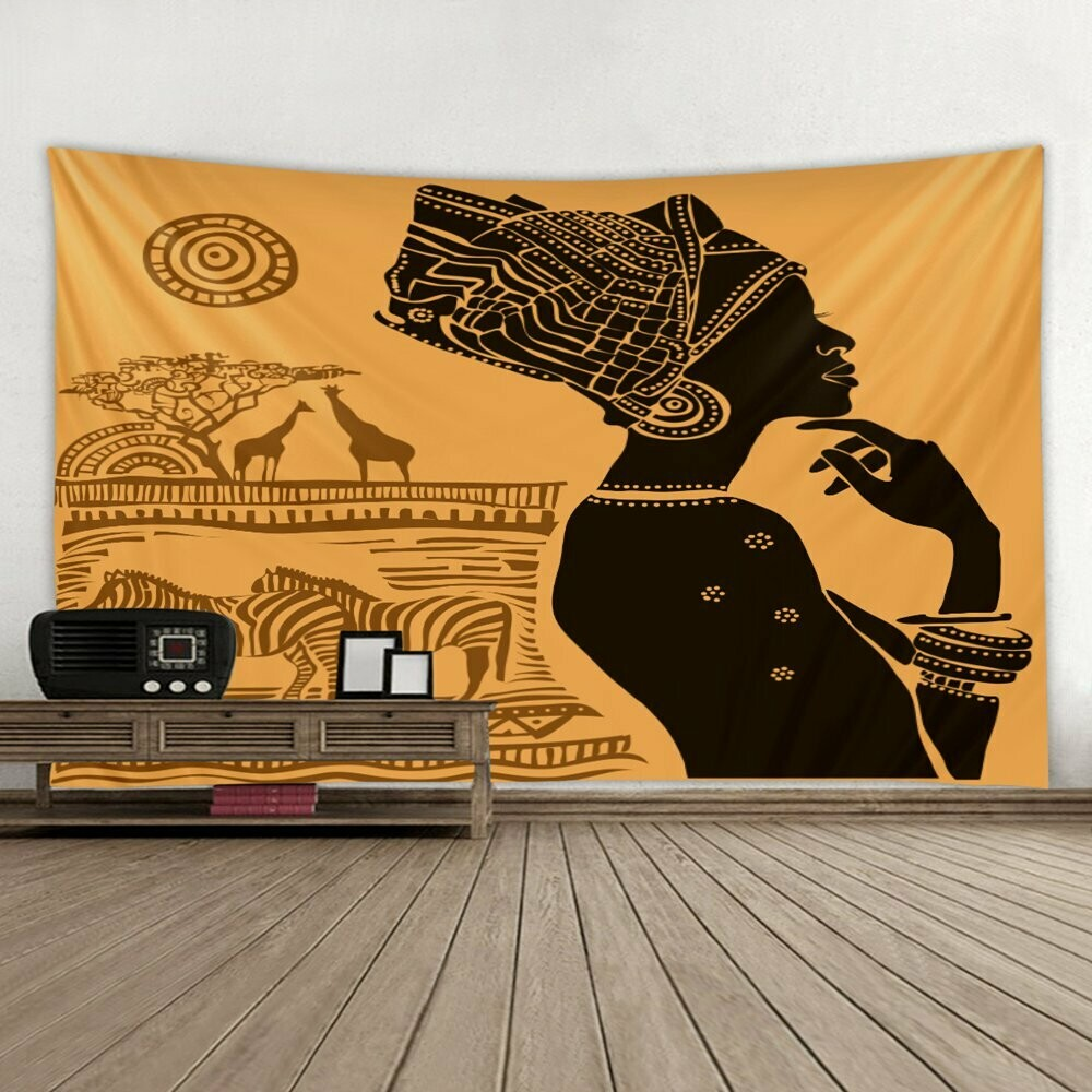 Afrocentric Wall Tapestry (Design #34)