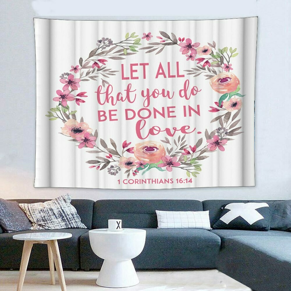 Scripture Wall Tapestry (Design #8)