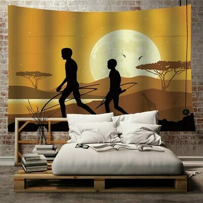 Afrocentric Wall Tapestry (Design #16)