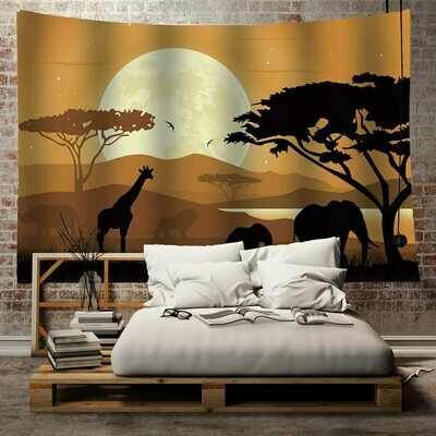 Afrocentric Wall Tapestry (Design #33)