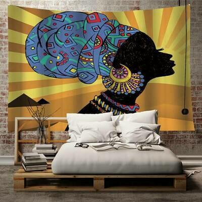 Headwrap Horizon Tapestry