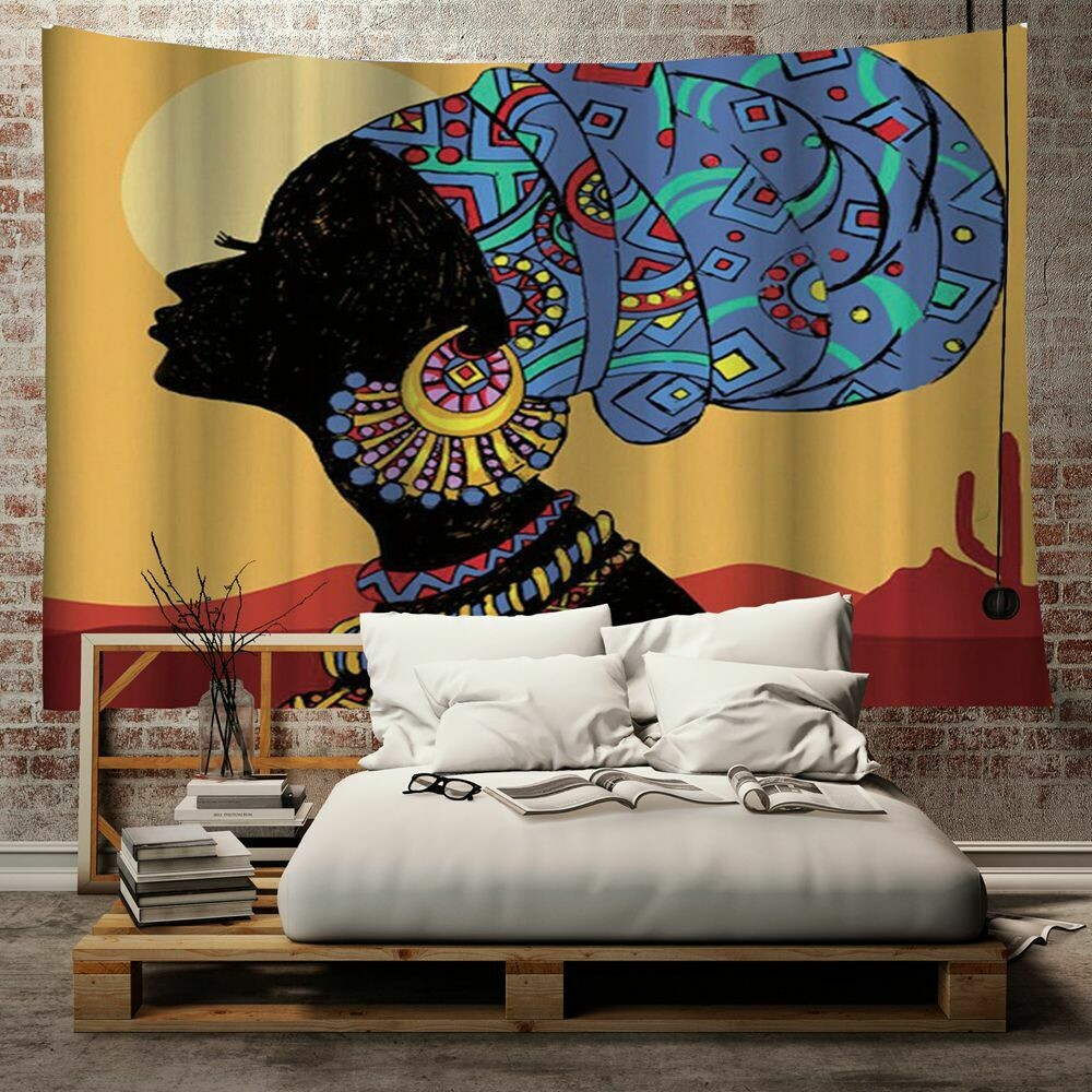 Afrocentric Wall Tapestry (Design #17)