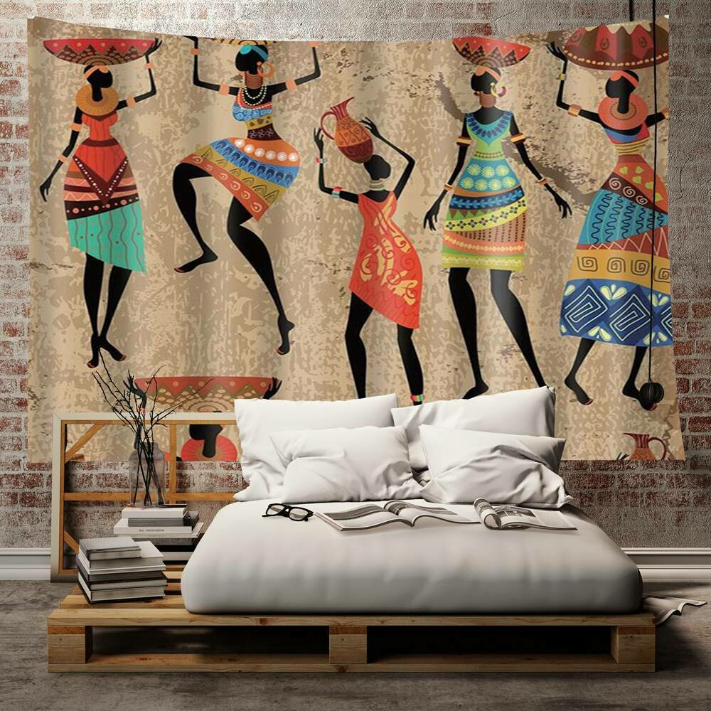 Afrocentric Wall Tapestry (Design #21)
