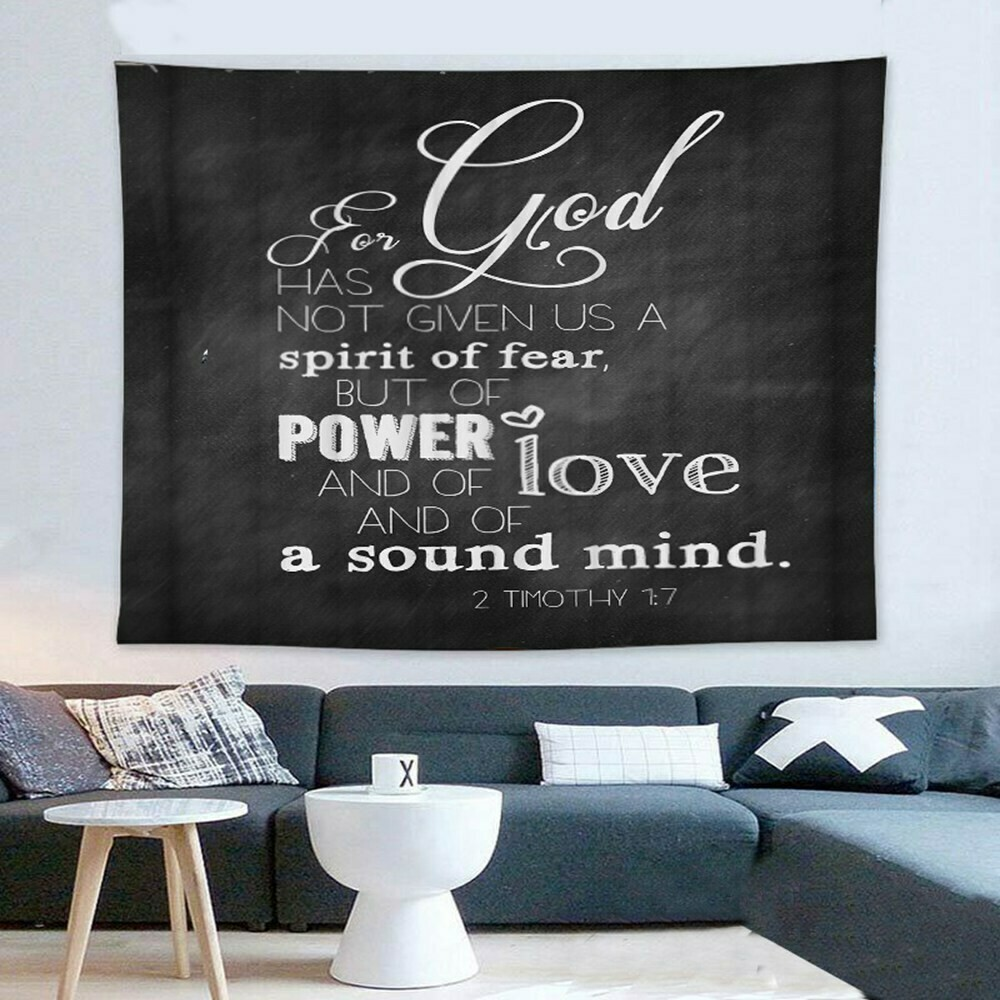 Scripture Wall Tapestry (Design #7)