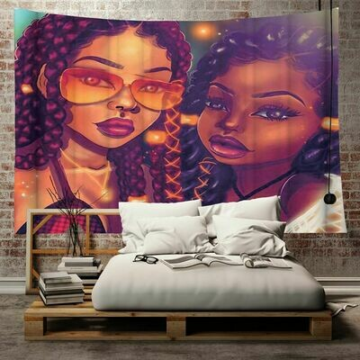 Afrocentric Wall Tapestry (Design #25)