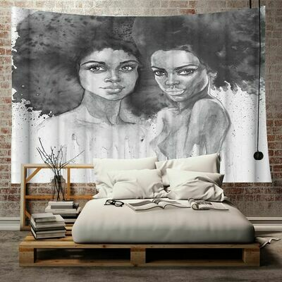 Afrocentric Wall Tapestry (Design #26)