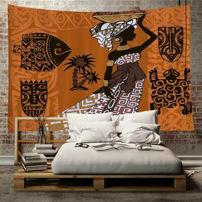 Afrocentric Wall Tapestry (Design #31)