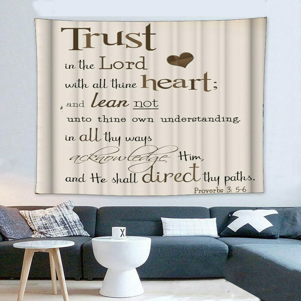 Scripture Wall Tapestry (Design #3)