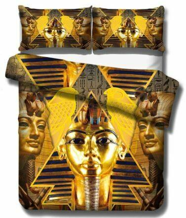 Egyptian Duvet Cover Set (Design 10)