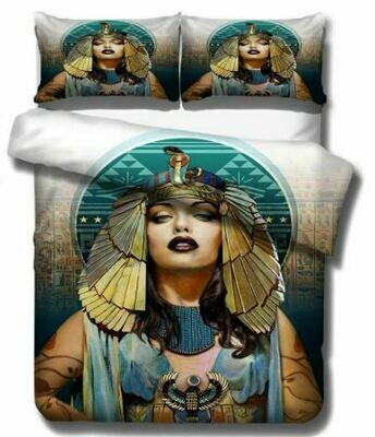 Egyptian Duvet Cover Set (Design 9)
