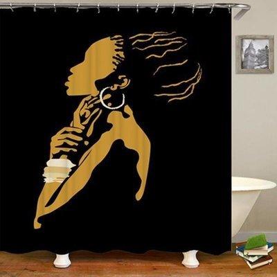 Shower Set (Black Beauty)