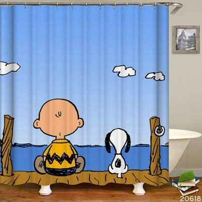 Shower Set (Charlie Brown and Snoopy)