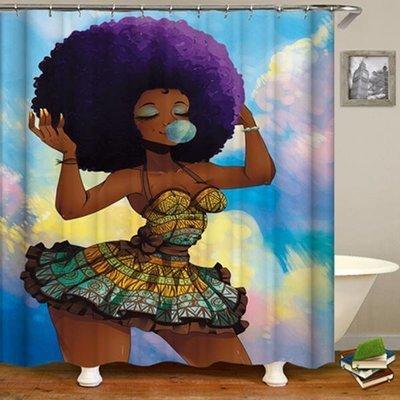Shower Set (Purple Black Girl Magic )