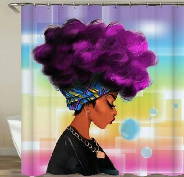 Shower Set (Purple-Liscious )