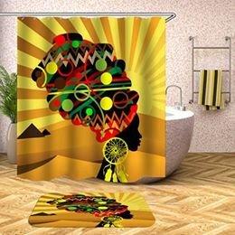Shower Set (Headwrap-yellow)