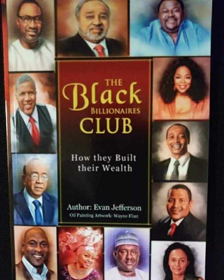 Book (The Black Billionaires Club: How They Built Their Wealth)