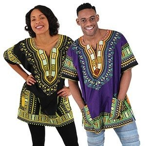 Kenyan Traditional Print Dashiki