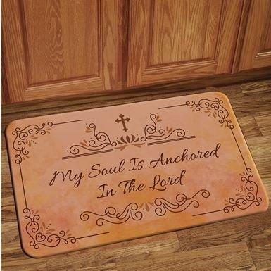 Interior Floor Mat (My Soul Is Anchored)