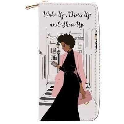 Women's Wallet (Wake up Dress up Show up)
