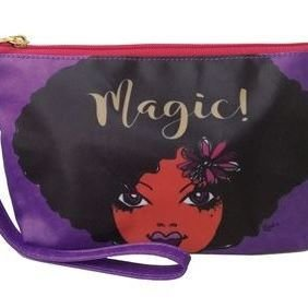 Cosmetic Pouch (Black Girl Magic)