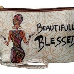 Cosmetic Pouch (Beautifully Blessed)