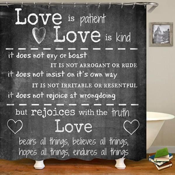 Shower Set (Love Is Patient)