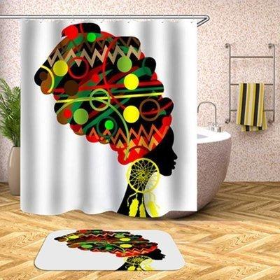Shower Set (Headwrap- white)