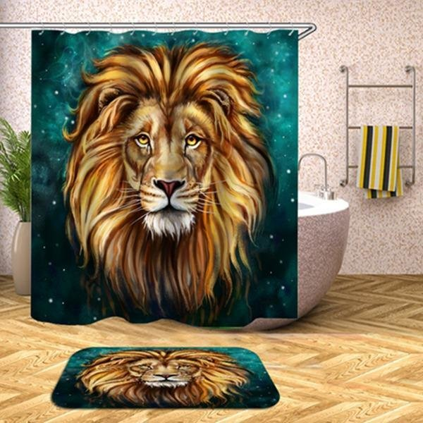Shower Set (Emerald Lion King)