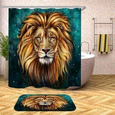 Shower Set (Emerald Lion King)