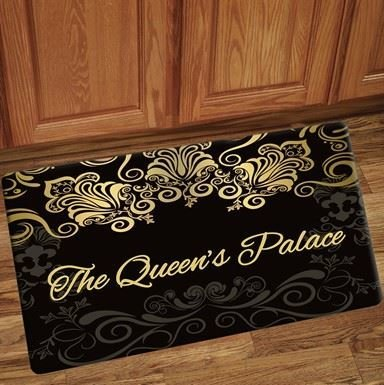 Interior Floor Mat (Black Queen's Palace)