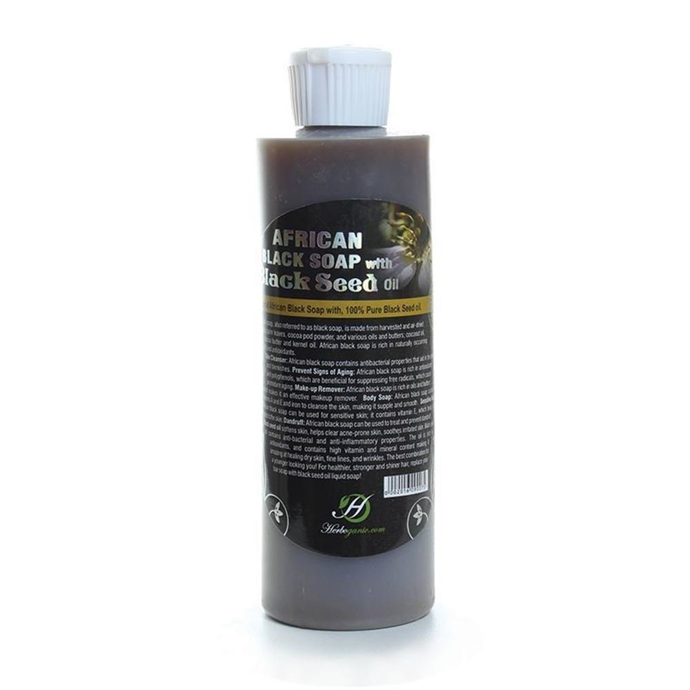 Liquid African Black Soap with Black Seed Oil