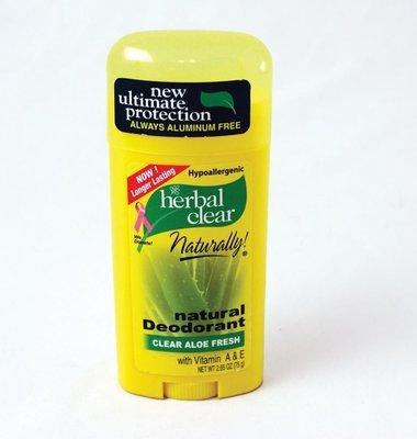 Herbal Clear Naturally Deodorant