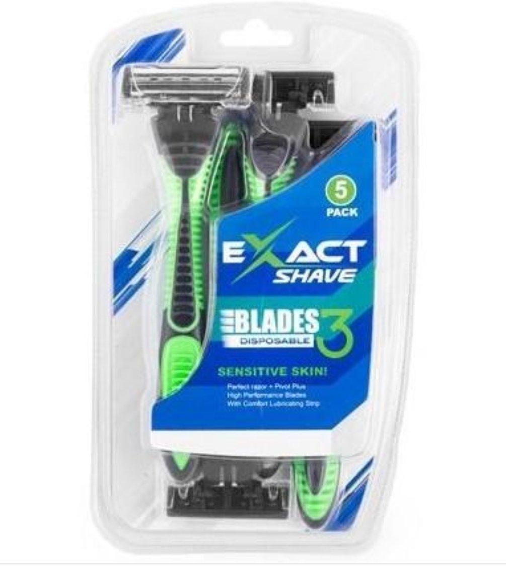 Exact Shave Disposable Razors
