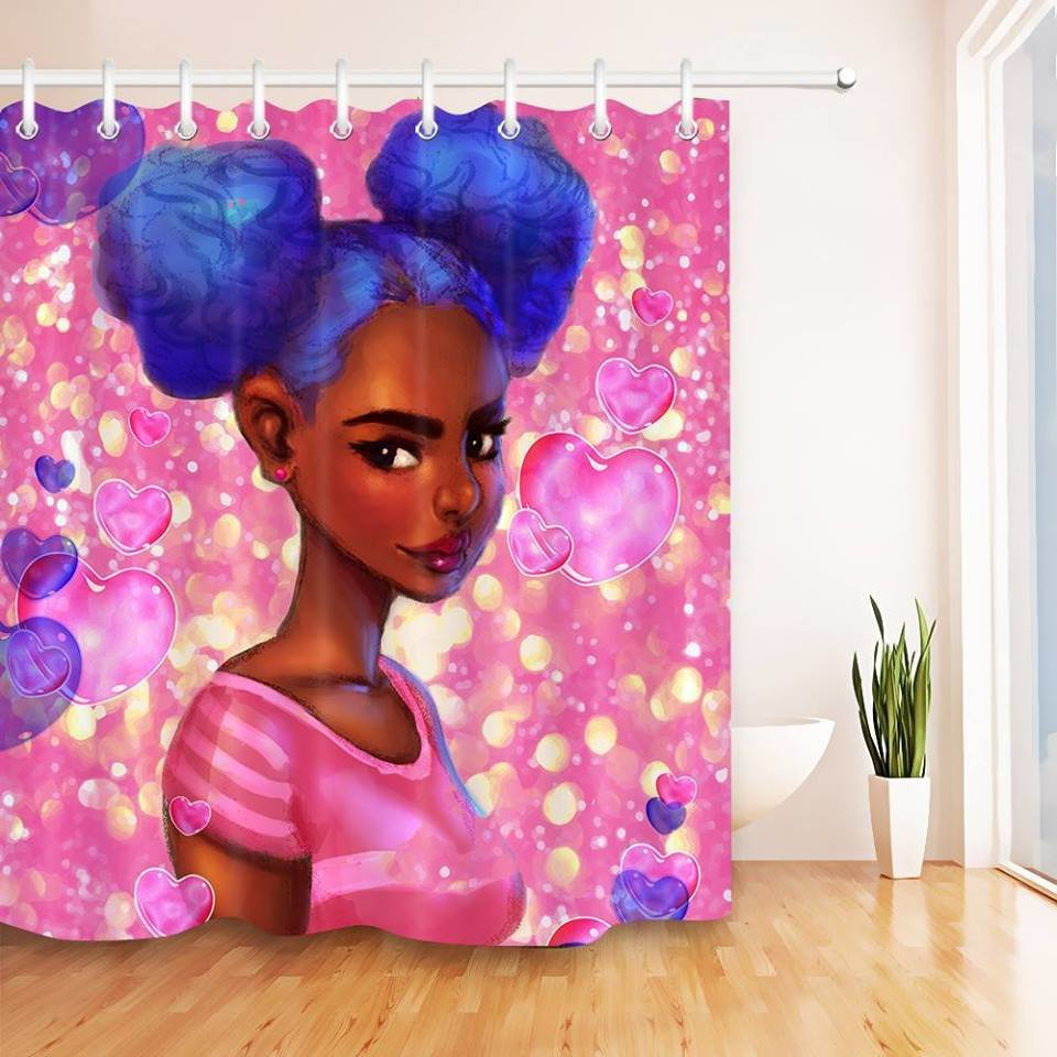 Shower Curtain (Candy Girl)