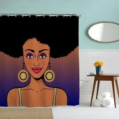 Shower Curtain (Pretty Brown Eyes)