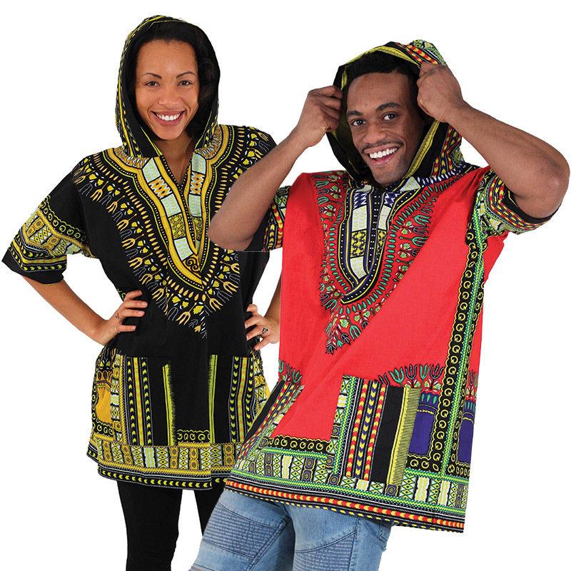 Kenyan Traditional Print Dashiki (Hoodie)