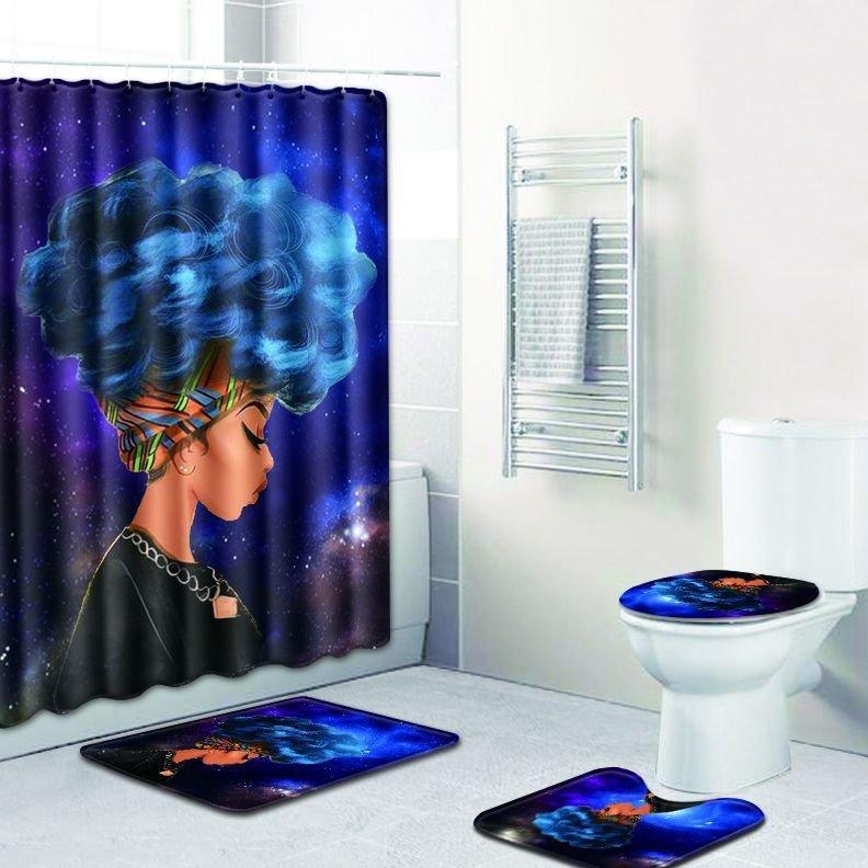 Blue Eclipse Bath Set