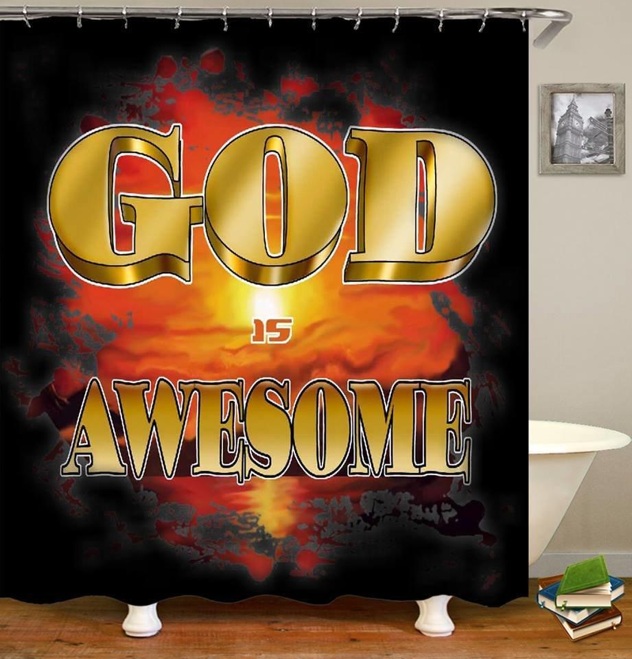 Shower Set (God is Awesome)
